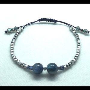 Jewelry - Perfect thoughtful Gift Blue Fluorite bracelet